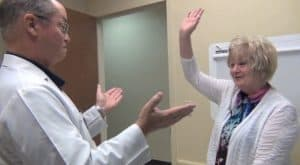 Pamela has had two shoulder surgeries ten years apart under the care of Dr. Christensen and she says she is back to full function and feels amazing following her latest procedure.