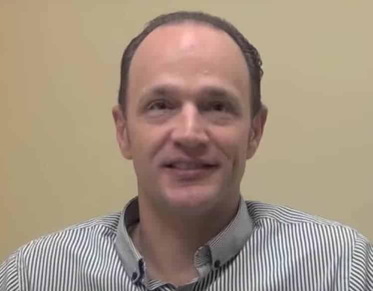 medial branch neurotomy patient Mark Begley