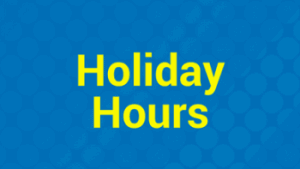 OOC Holiday Hours featured