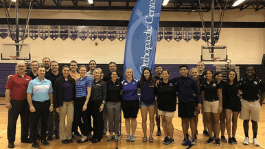 UCF And OOC Athletic Training Students
