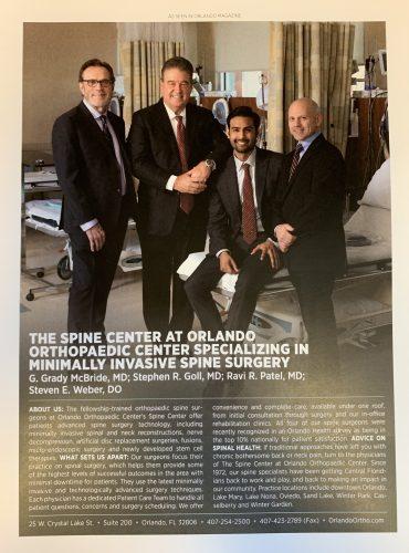 Spine OOC McBride Goll Patel Weber Orlando Magazine 2018