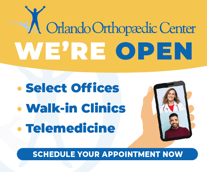 Orlando Orthopaedic Center Open and Accepting Patients