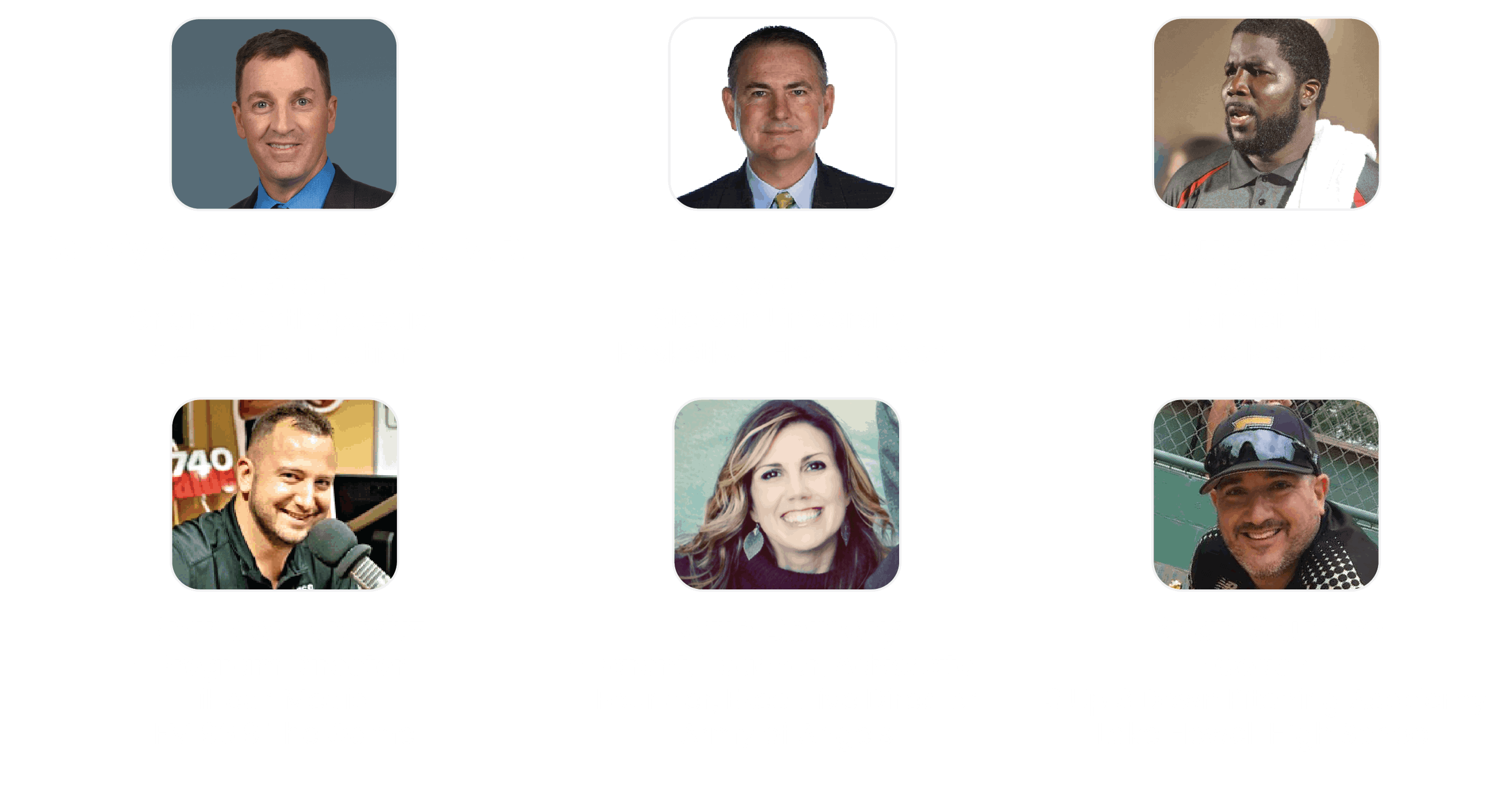 Town Hall Speakers