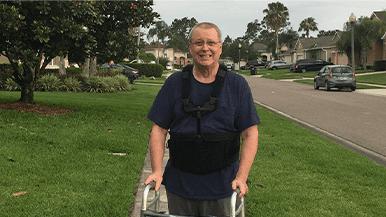 Orlando Orthopaedic Center enjoys back pain relief after laminectomy