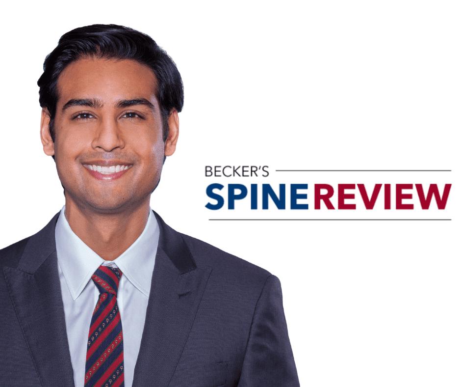 Ravi Patel Becker's Spine Review (Instagram Post) (Facebook Post)